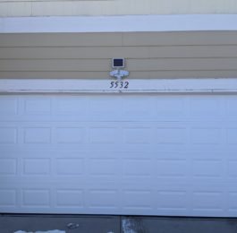 Garage Door Replaced After Car Collision